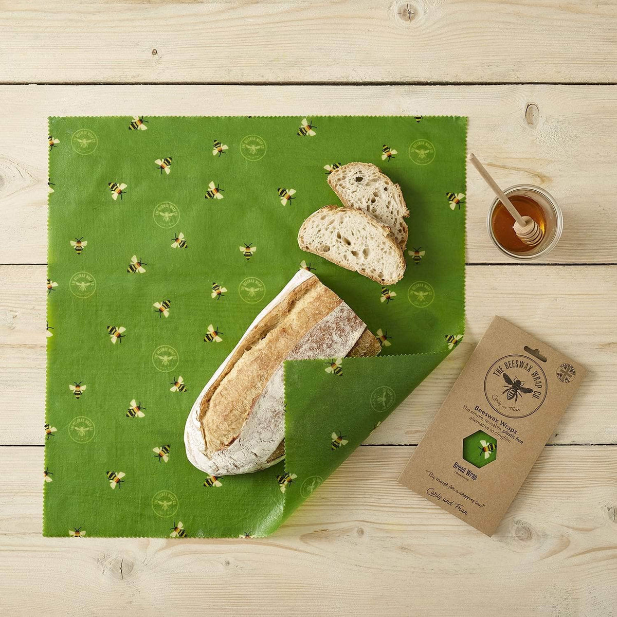 *New* Beeswax wraps - bread wrap Serious Beesnees