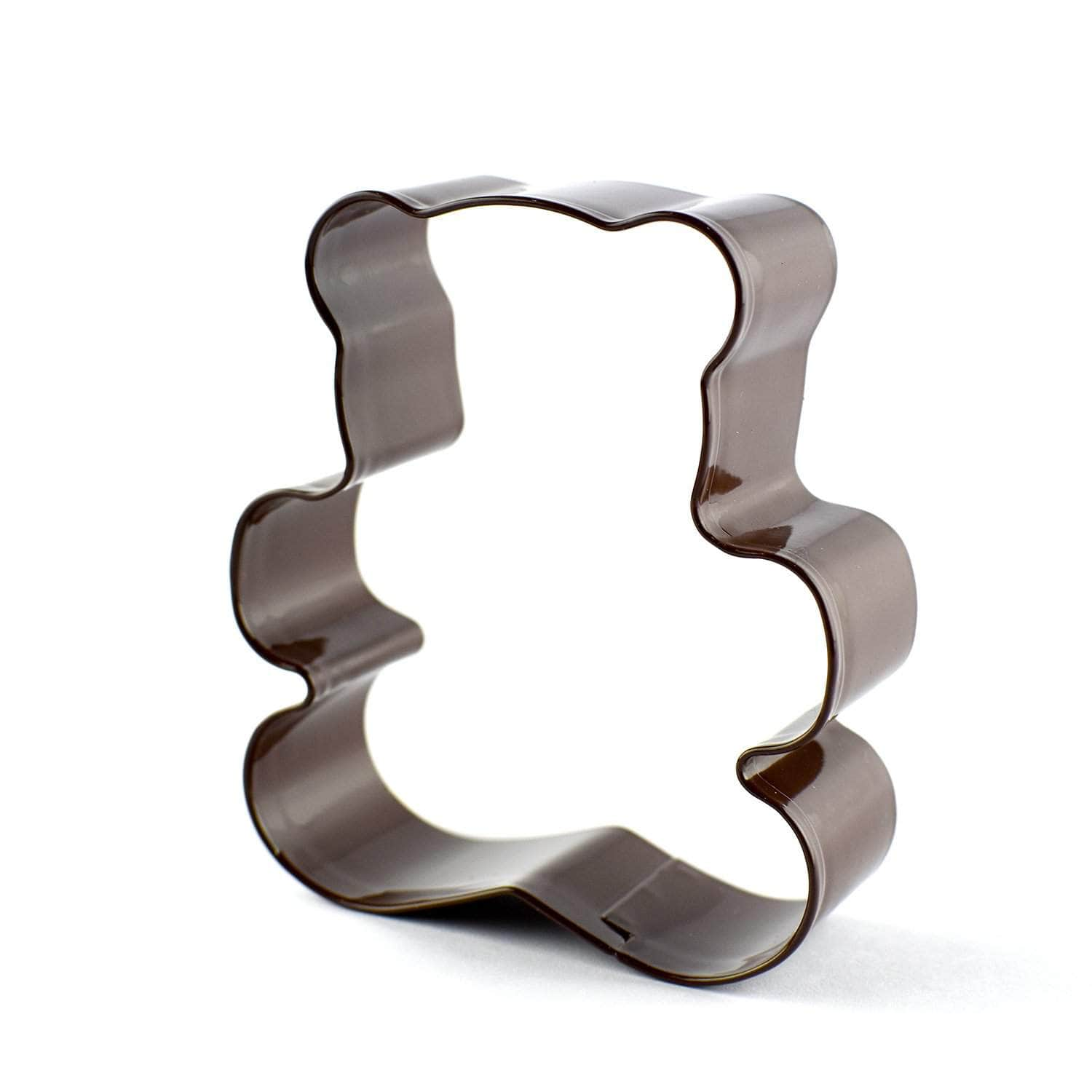 *New* Brown teddy bear cookie cutter