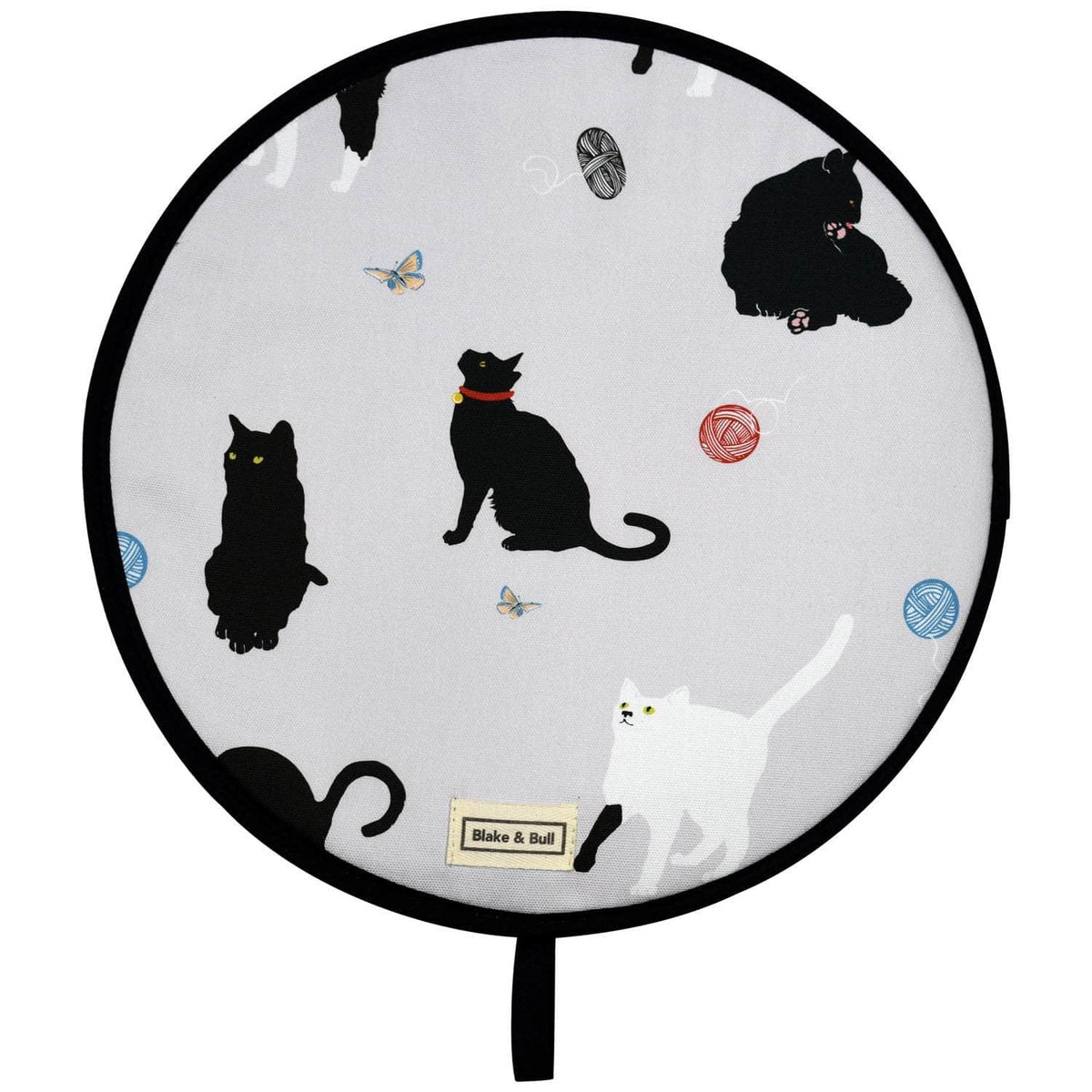 Chefs pad with loop for use with Aga range cookers - 'Cats'
