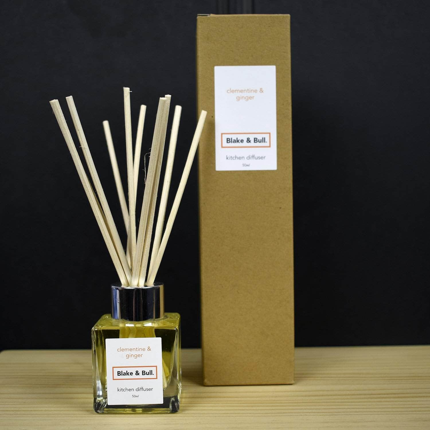 *NEW* Clementine & Ginger Kitchen Scent Diffuser (50ml)
