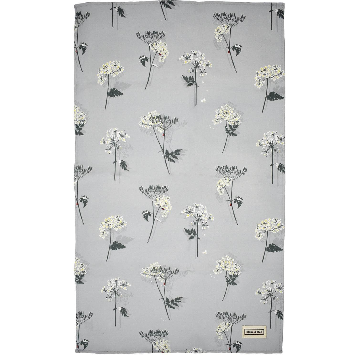 Tea towel 'Cow Parsley'