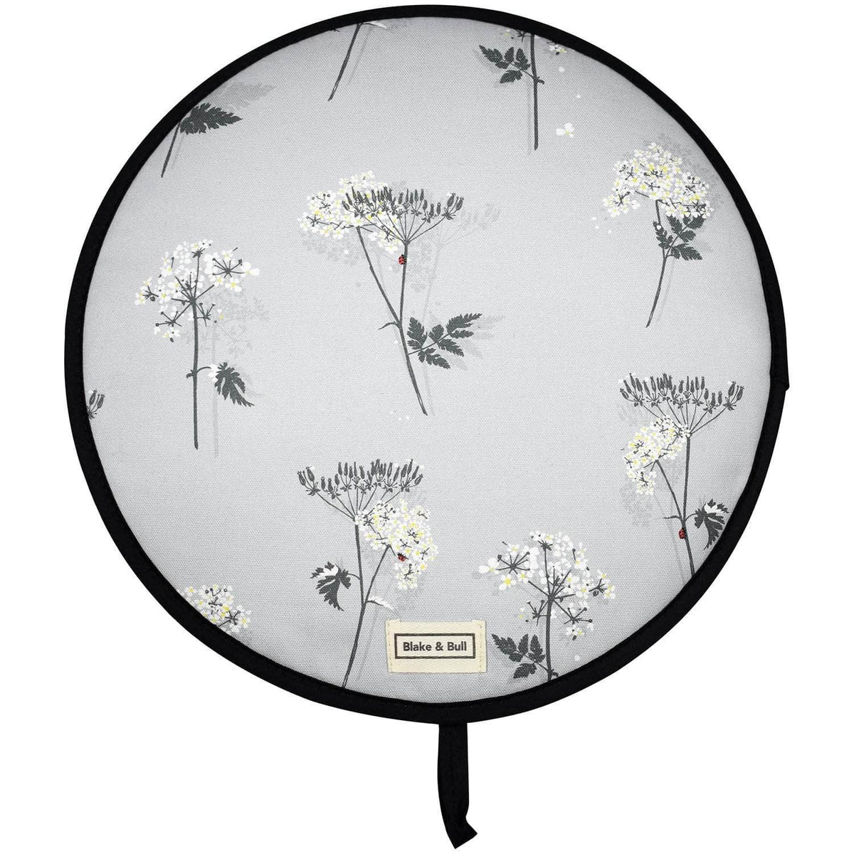 Chefs pad with loop for use with Aga range cookers - 'Cow Parsley'