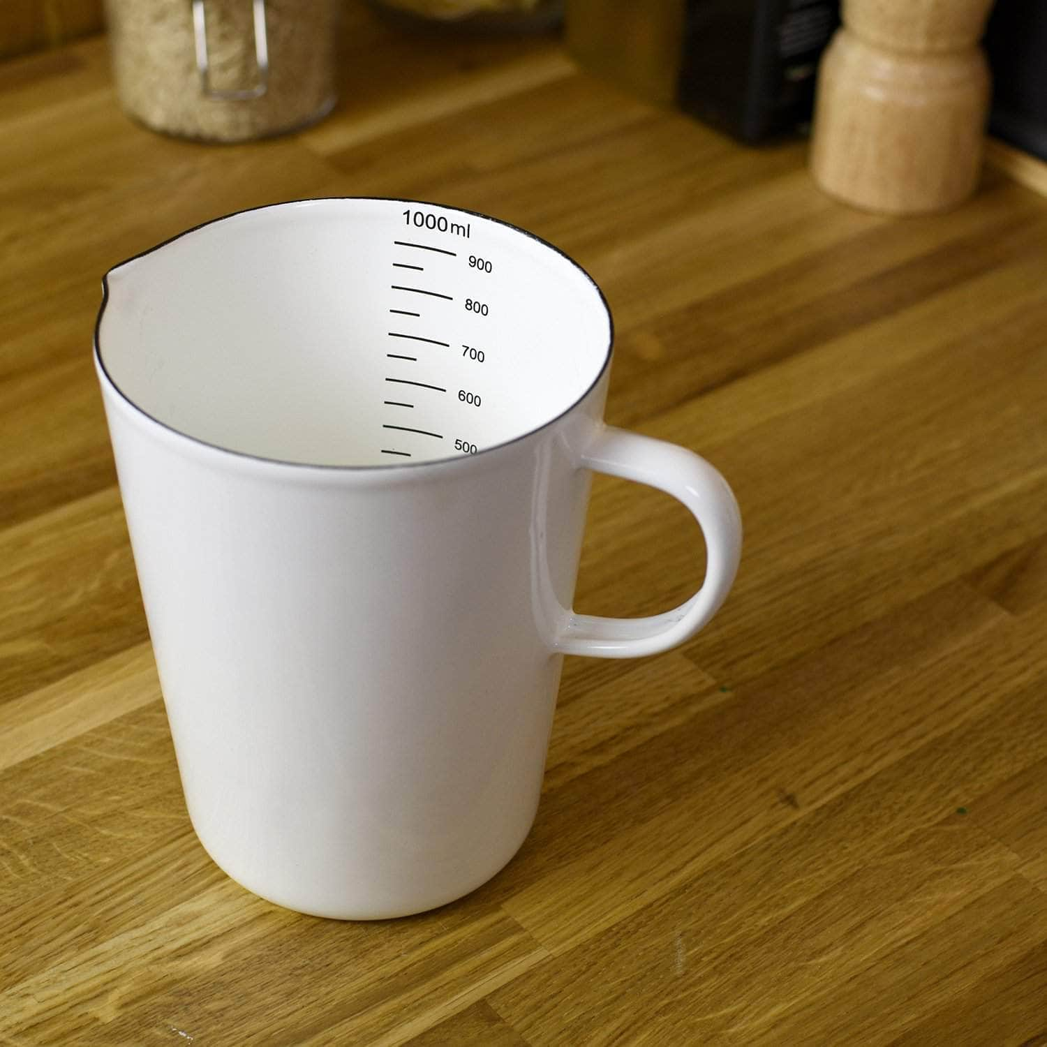 *NEW* 1L Enamel measuring jug