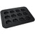 'Fits on runners' Yorkshire pudding & muffin tin for use with Aga range cookers | non-stick & 'full oven' size