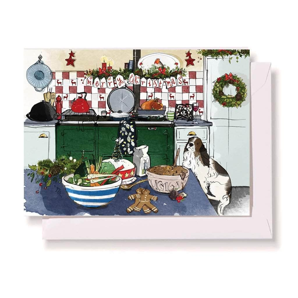 Christmas cards & envelopes (pack of 10) Pack of 10 Christmas Cards