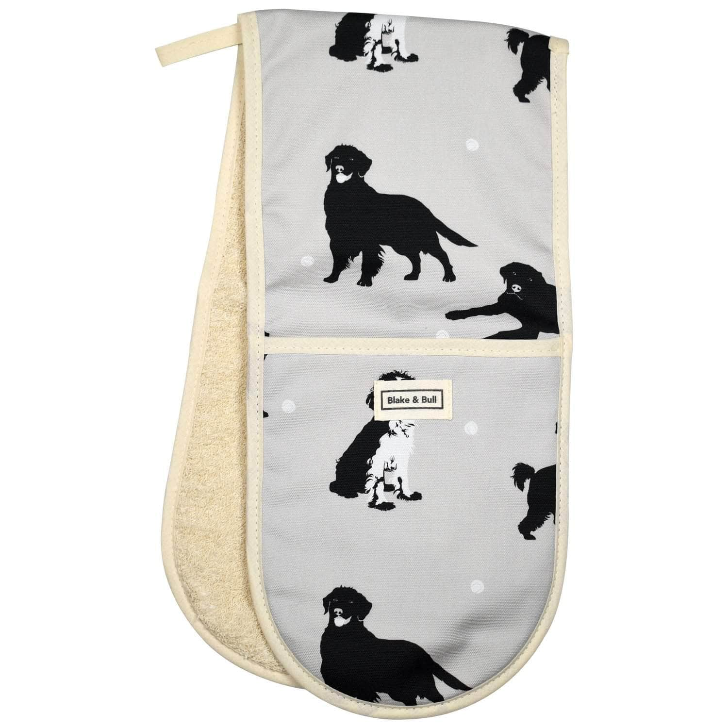 Oven glove for range cookers - 'Good dog!'