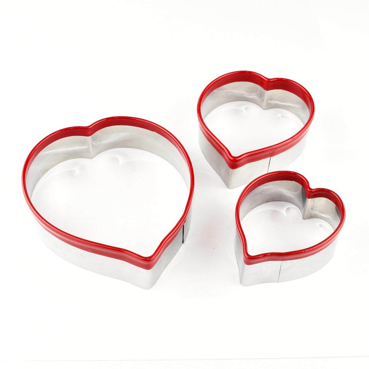 *New* Heart cookie cutters, set of 3