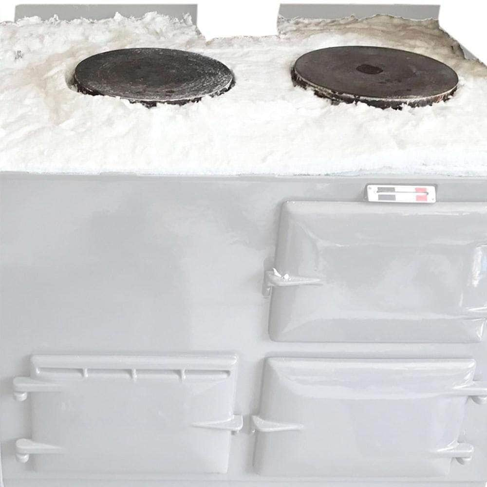 Hob top blanket insulation upgrade for Aga range cooker 2 ovens