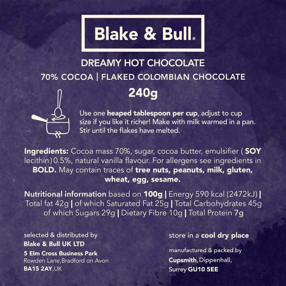 *New* Dreamy hot chocolate