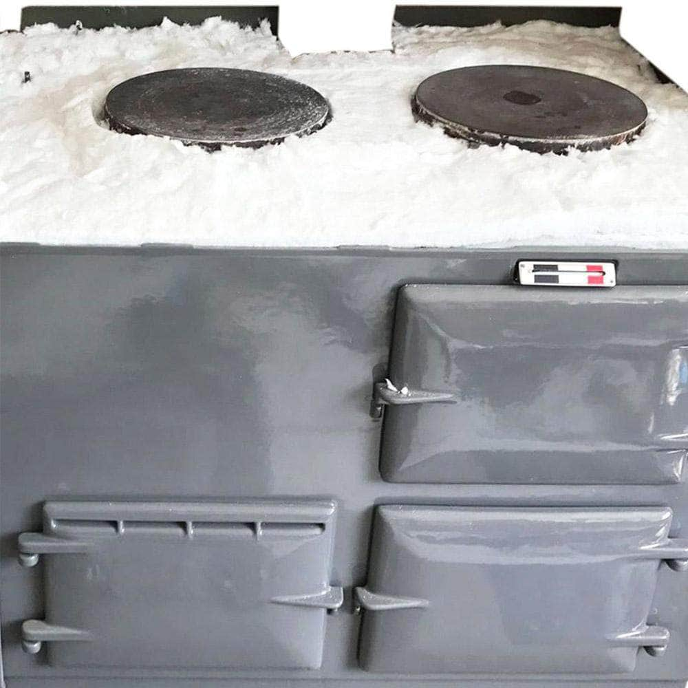 Insulation upgrade kit for use with Aga range cookers 2 ovens
