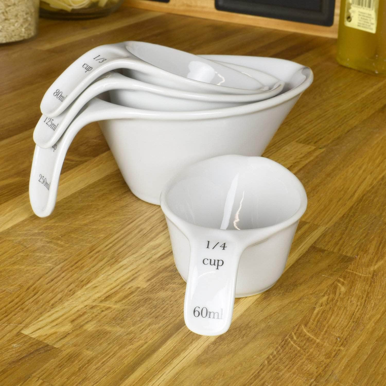 *New* Porcelain measuring cup set