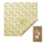 Beeswax wraps - bread wrap National Trust Summer Blooms