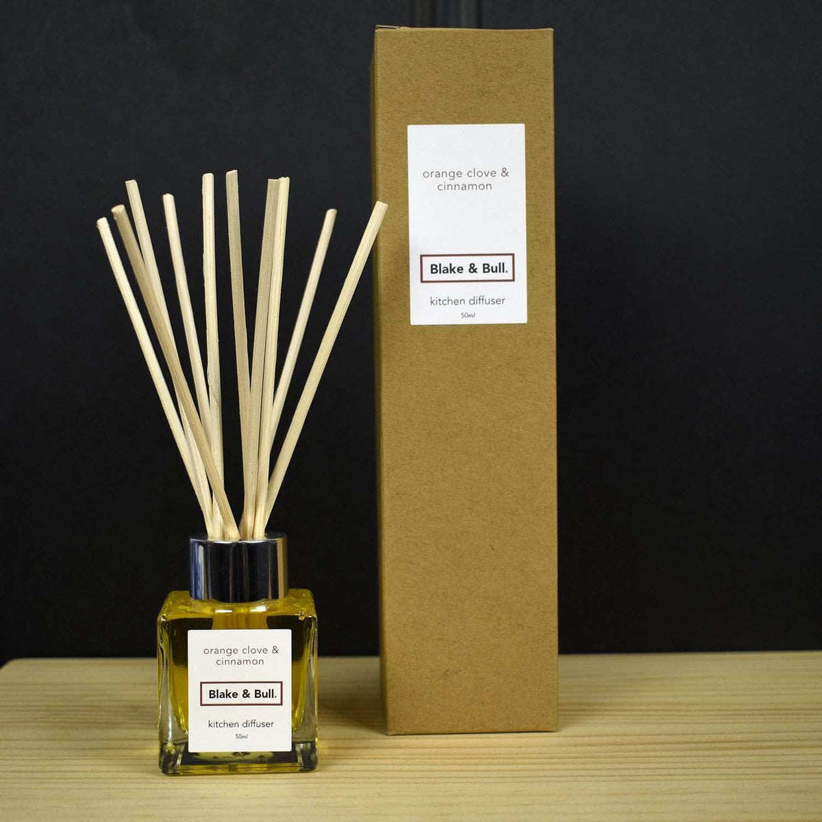 *NEW* Orange, Clove & Cinnamon Kitchen Scent Diffuser (50ml)