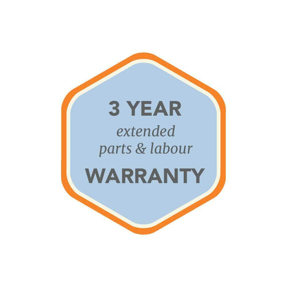 3 Year Extended Warranty On 'e-COOK' reconditioned Aga range cooker (for 5 years peace of mind) 3 Year Extended Warranty In Addition to Standard Warranty (5 Years total)