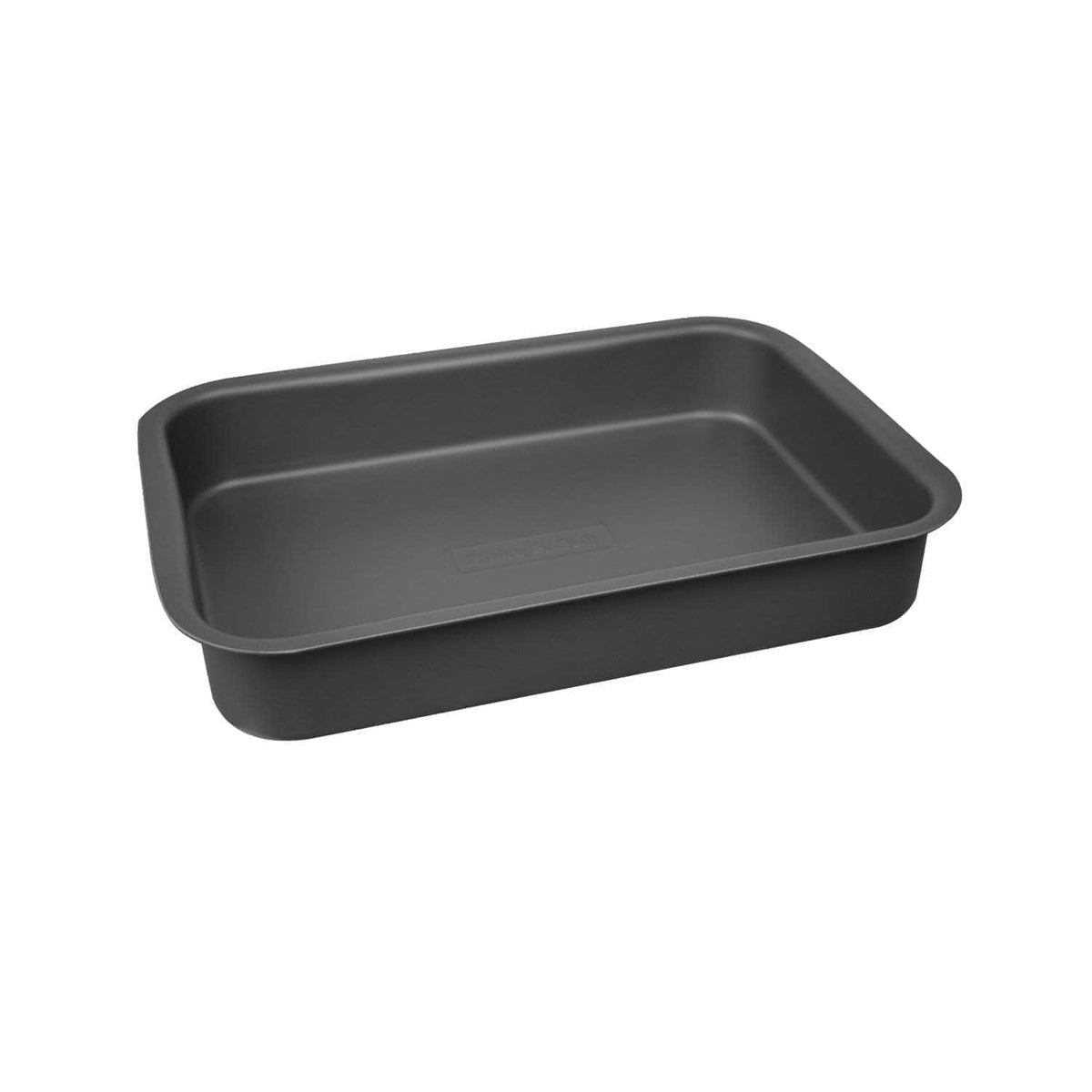 'Fits on runners' roasting tin for use with Aga range cookers 'half oven' size I only need an individual tin thank you! / Black