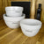*New* Set of three mixing bowls