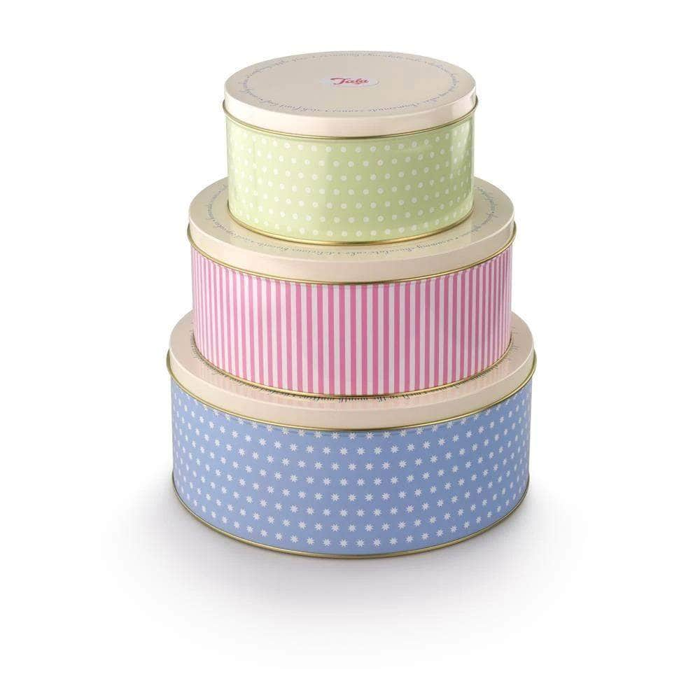 *New* Set of three round cake tins