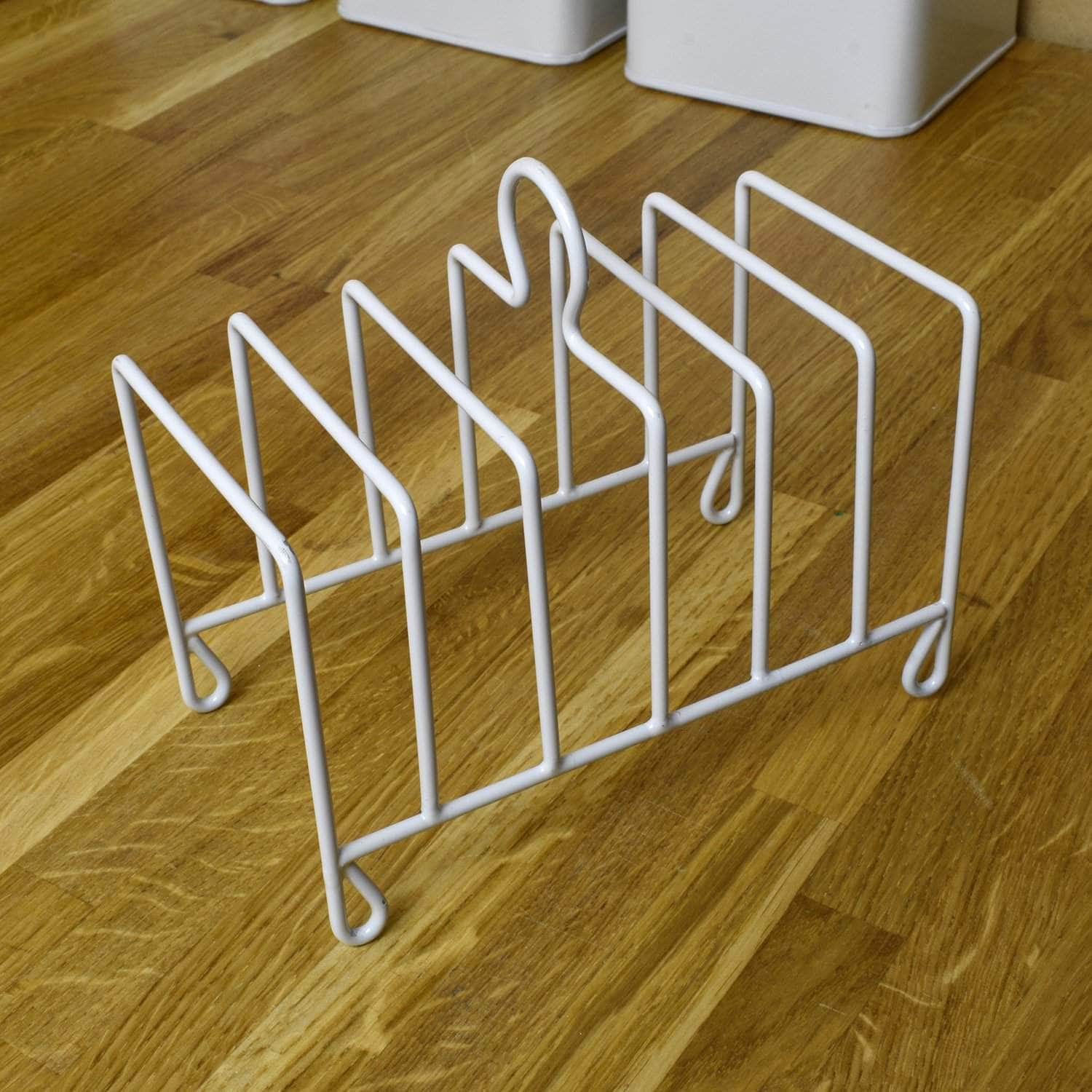*New* Steel toast rack in chalk