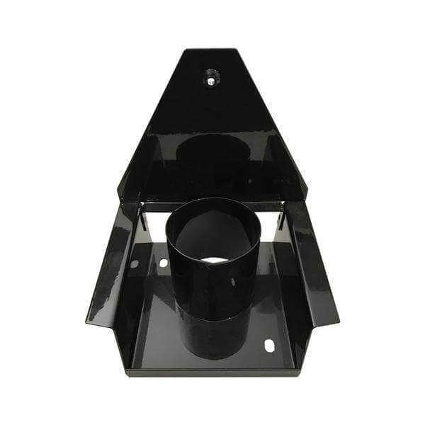 Gas flue diverter stand for use with 'Deluxe' Aga range cooker