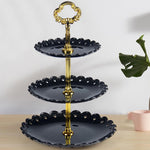 Three-layer Fruit Plate Cake Stand Kitchen Accessories Home Party Dessert Storage Rack Festival Supplies Cupcake Storage Holder