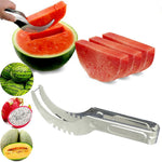 Limited-time discount Stainless Steel Watermelon Slicer Cutter Knife Corer Fruit Vegetable Tools Kitchen Gadgets 1pc chef knives