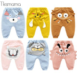 2109 New Fashion Popular  Baby Leggings Newborn Baby Girl Leggings Cotton Pants Baby Boy Bottoms