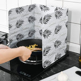 39 Aluminum Foil Oil Block Oil Barrier Stove Cooking Anti - Splashing Oil Baffle Heat Insulation Kitchen Supplies Utensils