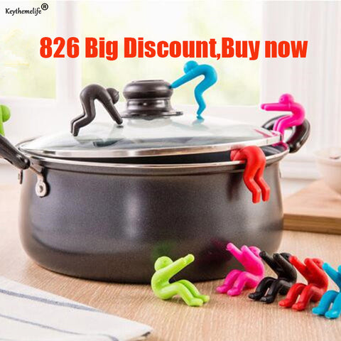 2pcs Silicone Cover Anti-overflow Kitchen Lid of The Anti-overflow Device phone Racks Kitchen Storage Holders X