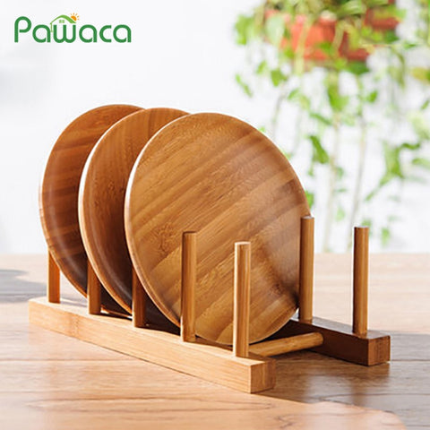 6/4/3 Layer Bamboo Dish Rack Drainboard Drying Drainer Storage Holder Stand Kitchen Cabinet Organizer for Dish/ Plate/ Bowl/ Cup