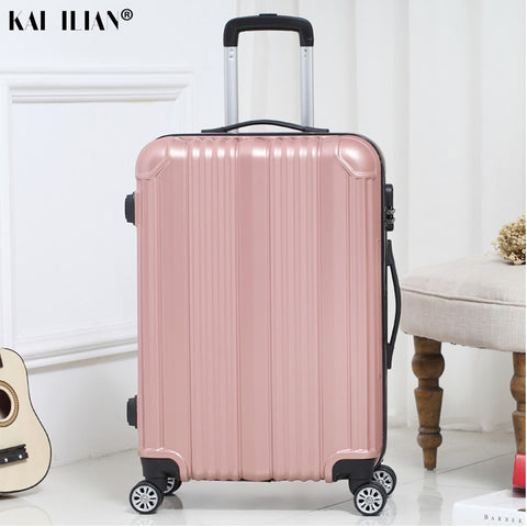 New hot suitcase carry-ons Women travel Spinner rolling luggage on wheels 20/22/24 inch Cabin trolley box fashion men's luggage