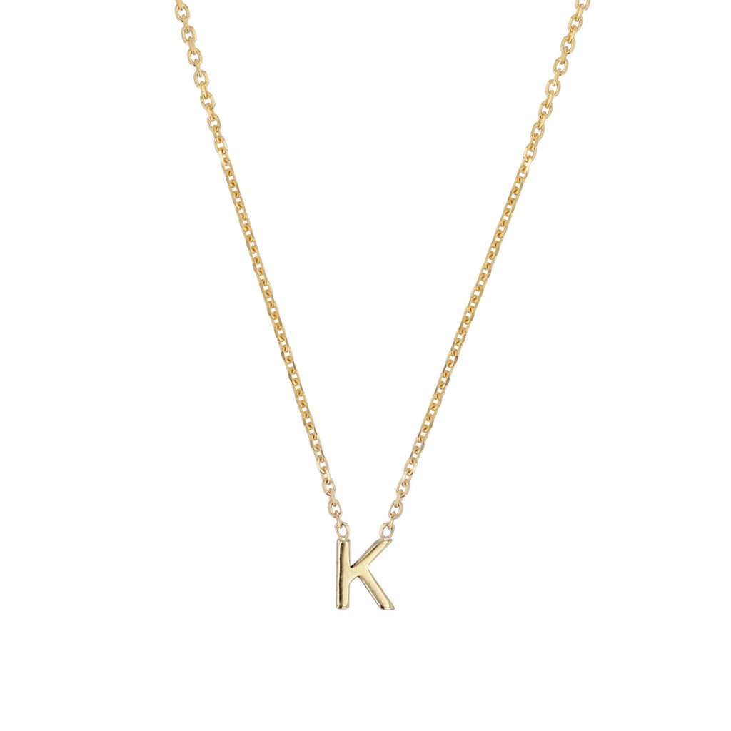 Petite Single Alphabet Necklace