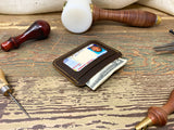 Mens Leather ID Card Wallet