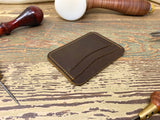 Mens Leather Card Wallet