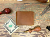 Mens Wallet Saddle Tan