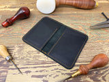 Black Handmade Leather Wallet