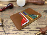 Minimalist Mens Leather Wallet