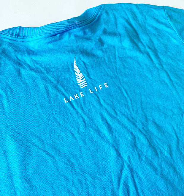 Neon Blue Paddle Team T-Shirt