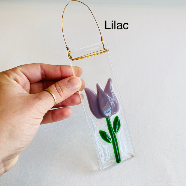 Mini Glass Tulip