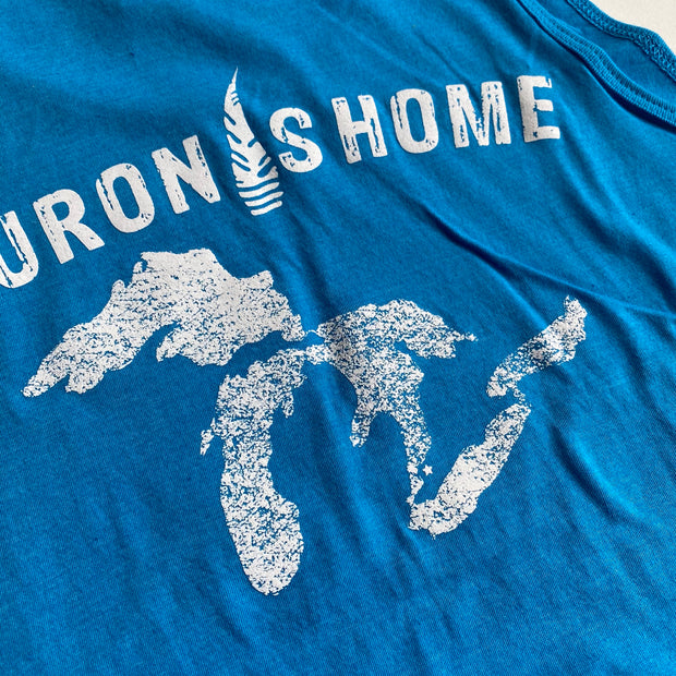 Huron is Home Beach Tank