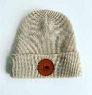 Leather Patch Toque
