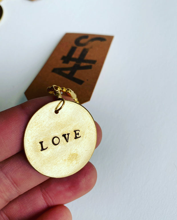 Hand Stamped Key Chains