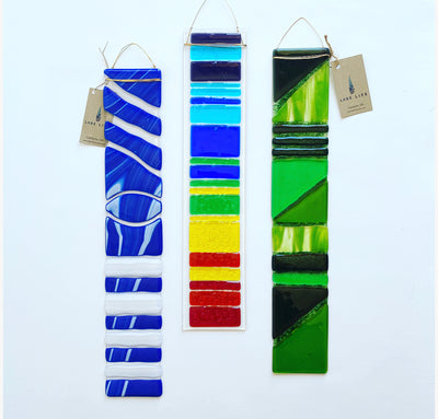 Long Panel Glass Suncatchers