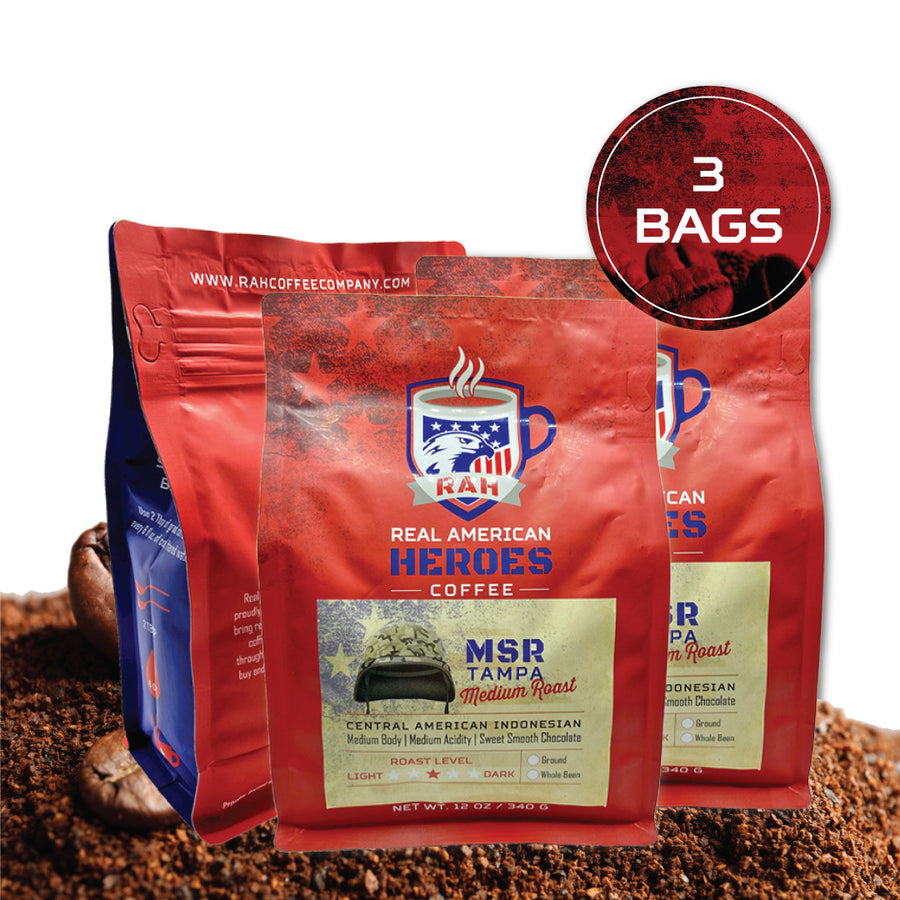 3 BAGS (Choice of Roast) subscription