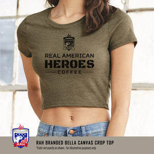 Ladies Crop Top Shirt