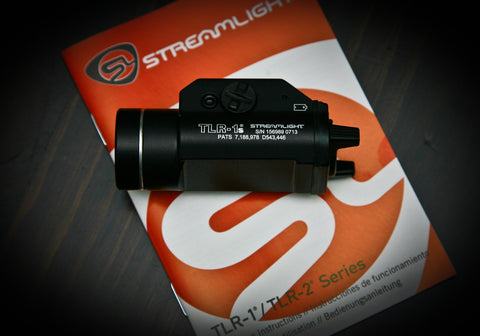 Streamlight TLR-1s Tactical Light with batteries