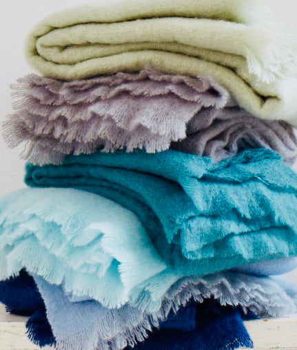 How to Care for your Mohair Blanket