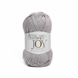 Joy grey wool mohair yarn
