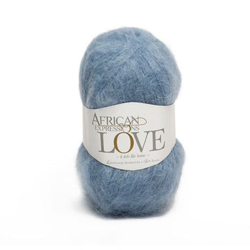 Denim Mohair Yarn