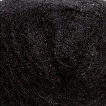 Black Mohair Yarn