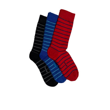 Metro Stripe Socks Combo